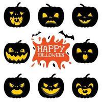 conceito de feliz dia das bruxas vetor