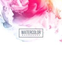 Fundo colorido abstrato aquarela design