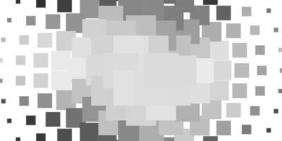 pano de fundo cinza claro com retângulos ilustração colorida com retângulos gradientes e design de quadrados para a promoção de seus negócios vetor