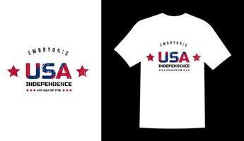ilustração em vetor design de camiseta do dia do memorial dos EUA
