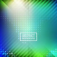Fundo tecnológico geométrico colorido abstrato vetor