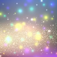 Fundo de brilhos brilhantes abstratos