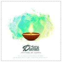 Fundo abstrato religioso feliz Diwali vetor