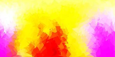 luz multicolor vetor abstrato triângulo padrão