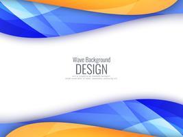 Fundo ondulado colorido brilhante abstrato vetor