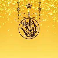 Abstrato colorido feliz ano novo 2019 fundo vetor