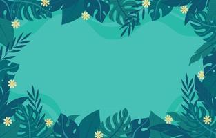 fundo floral de verão vetor