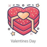 desenho de coração dia dos namorados vetor