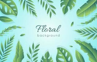 bacground floral simples vetor