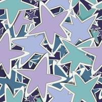 cosmos padrão sem emenda com estrelas vetor