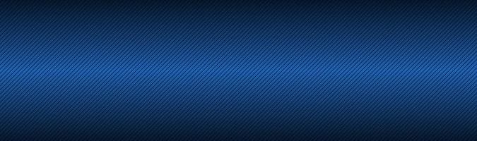 cabeçalho abstrato preto e azul com linhas diagonais tecnologia metálica banner ilustração vetorial moderna vetor