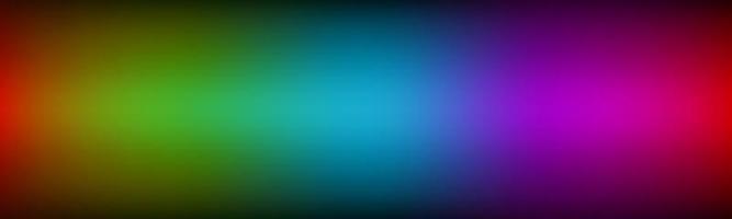 abstrato arco-íris cabeçalho vetor moderno espectro banner ilustração vetorial simples