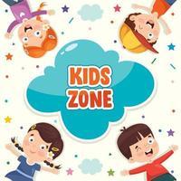 conceito de zona infantil vetor