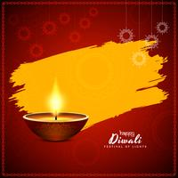 Design de fundo abstrato feliz Diwali