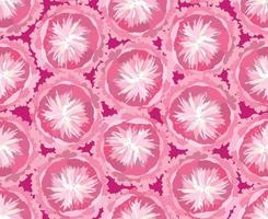 padrão floral sem emenda abstrato ornamental artístico desenhado fundo com flores florescer motivo para design de decoração de tecido têxtil vetor