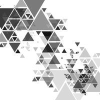 Fundo moderno cinza lindo polígono vetor