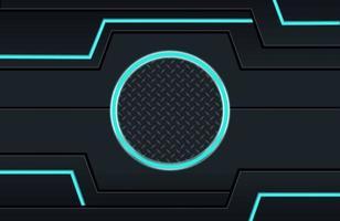 minimal black techno background ilustração forma geométrica abstrata moderna futurista vetor