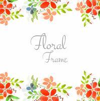 Fundo floral colorido abstrato cartão de casamento vetor