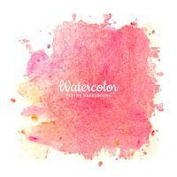 Fundo aquarela rosa moderna vetor
