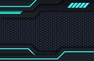 fundo de tecnologia mínimo preto e azul escuro projeto moderno abstrato da textura. fundo futurista de conceito de inovação tecnológica moderna vetor
