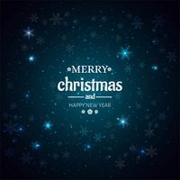 Fundo bonito brilhante feliz Natal vetor