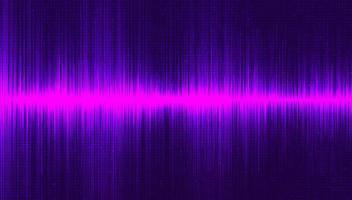 fundo de onda sonora ultravioleta vetor