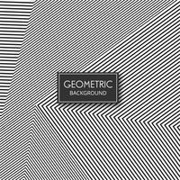 Design de padrão de linhas de forma geométrica abstrata vetor