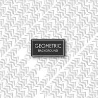 Linhas geométricas padrão vector design de forma