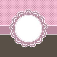 Fundo rosa decorativo vetor