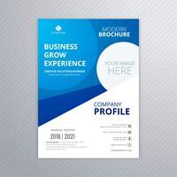 Design de modelo de folheto profissional de negócios vetor