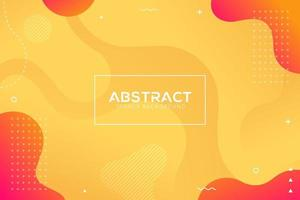 fundo de gradação de cor líquido moderno abstrato dinâmico vetor