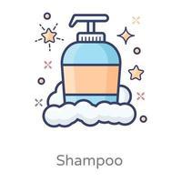 shampoo design moderno vetor