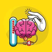 invenção da ideia do cérebro vetor