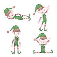Cute Christmas Elf Colecção