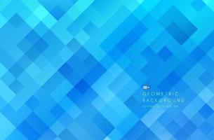 bandeira de cor azul de tecnologia abstrata. forma quadrada geométrica azul clara moderna, sobreposição de fundo de camada com espaço de cópia. design moderno padrão futurista. ilustração vetorial. vetor