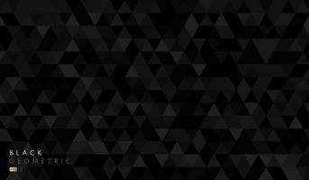 abstrato preto e cinza hexágono geométrico forma padrão de fundo. vetor para design de apresentação. terno para negócios, corporativo, instituição, festa, festivo, seminário e palestras. ilustração vetorial