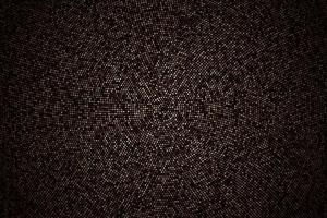 padrão retro circular abstrato. explosão dourada de confetes gerados digitalmente. textura glitter dourados em um estilo de meio-tom de fundo preto. ilustração vetorial vetor