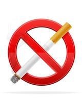 conceito sem ilustração vetorial de estoque de fumaça isolada no fundo branco vetor