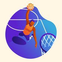 basquetebol vetor