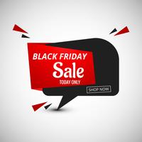 Projeto de banner de venda de sexta-feira negra