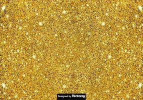 Fundo de poeira de Pixie - textura de Vector dourado