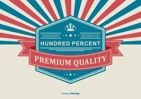 Fundo Promocional de Qualidade Premium vetor