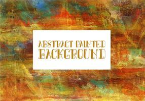 Fundo Pintado Multicolor Abstrato vetor
