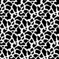 textura padrão sem emenda de pele de vaca. fundo do papel de parede da pele. ilustração vetorial vetor