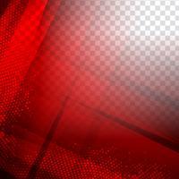 Fundo poligonal geométrico vermelho moderno abstrato vetor