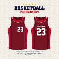 torneio de basquete, emblema, design de basquete, camisas, roupas esportivas vetor