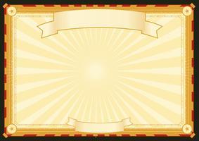 Cartaz horizontal de Royal Palace vetor