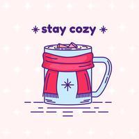 Fique Cozy Vector