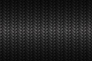 fundo de fibra de carbono abstrato preto. aparência metálica moderna. a aparência do aço inoxidável. ilustração vetorial vetor