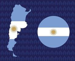 america latine 2020 times.america latine soccer final.argentina map vetor